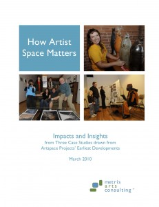 How Artist Space Matters